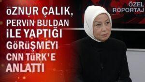Öznur Çalık, Pervin Buldan'la yaptığı görüşmeyi CNN TÜRK'e anlattı – 22.02.2021
