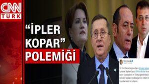 İmamoğlu'nun Akşener, Buldan tweeti için art arda açıklamalar