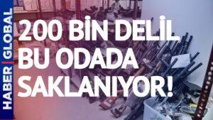 200 Bin Delil Bu Odada Saklanıyor! Çağlayan'daki İstanbul Adliyesi'nin 'Kozmik Odası'