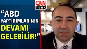 Erdoğan Biden görüşmesi sonrası Ali Çınar, Beyaz Saray'ın önünden aktardı